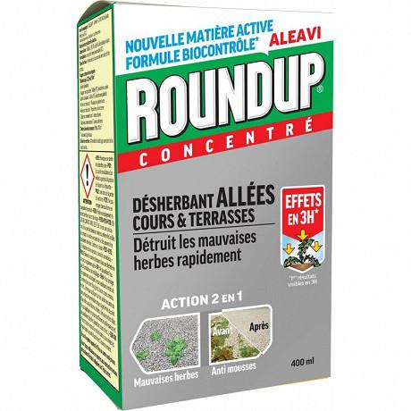 Roundup concentre allées & terrasses 400ml