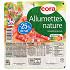 Cora lardons allumettes nature -25%sel 2x75g