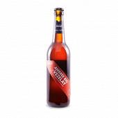 Brasserie de Vezelay bière ambrée bio pur malt 50 cl 5,6% Vol.