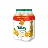 Tropicana orange sans pulpe pet 4x1.5l maxi format
