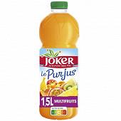 Joker pur jus multifruits pet 1.5l
