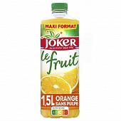 Joker le fruit orange pet 1.5L