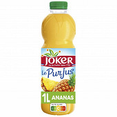 Joker 100% pur jus ananas bouteille 1L