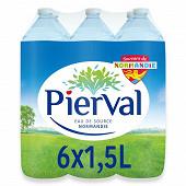 Pierval eau de source 6x1.5l