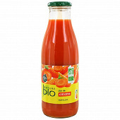 Nature bio pur jus carotte bocal 75cl