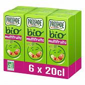 Pressade nectar bio multifruits 6x20cl