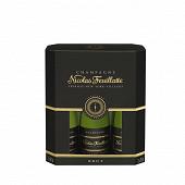 Champagne feuillate brut 3x20cl 12%vol