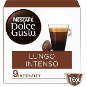 Nescafé Dolce Gusto Lungo intenso, capsule café intensité 9 - x16 dosettes