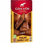Côte d'or praliné fondant lait 200g