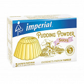 Imperial pudding vanille sucre 3x60g