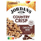 Jordans country crisp chocolat noir 550g
