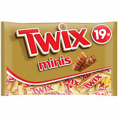 Twix minis barre chocolat biscuit caramel 403g