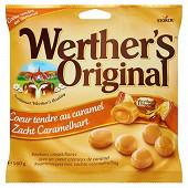 Werther's original coeur tendre au caramel sachet de 160g