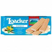 LoaCker classic vanille gaufrettes croustillantes fourrées à la crème 90g