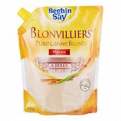 Le blonvillier sucre blond de canne 750g