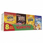 Kellogg's variety minis paquets x8 215g