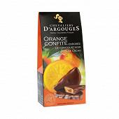 Les chevaliers d'argouges orange confite enrobée chocolat étui 150g