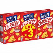 Belin chipster salé lot x3 225g