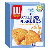 Lu Sablés des flandres biscuits secs 250g
