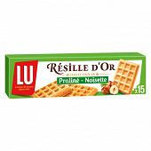 Lu résille d'or praliné-noisette 15 mini gaufres fourrées 110g