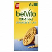 Lu belvita petit déjeuner sablé lait et céréales 400 g