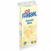 Galak tablette de chocolat blanc 2x100g