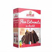 Ancel flan entremets chocolat 4 sachets 232g