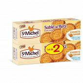 Saint-Michel sablés de Retz noix de coco 2 paquets 240g
