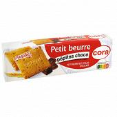 Cora petit beurre aux pépites de chocolat 200 g