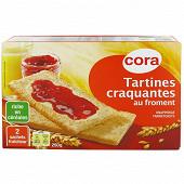 Cora tartines craquantes au froment 250g