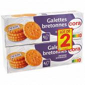 Cora galettes bretonnes pur beurre 2x125g