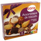 Cora assortiment de biscuits 375g