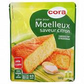 Cora pâte pour moelleux citron 500g