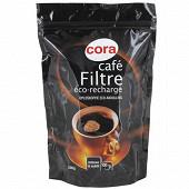 Cora café filtre lyophilisé éco recharge 200g