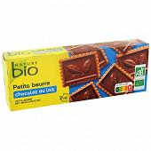 Nature bio petit beurre chocolat au lait 150g