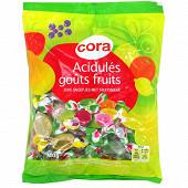 Cora acidulés goût fruits 400g