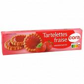 Cora tartelettes fraise 150g