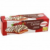 Cora génoises fourrées cerise 150g