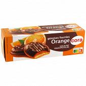 Cora génoises fourrées orange 150 g