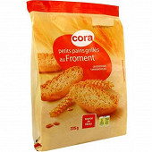 Cora petits pains grillés au froment 225g