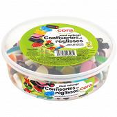 Cora kido maxi mélange confiseries et réglisse boite 600 g