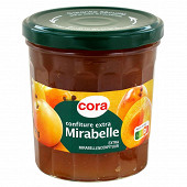 Cora confiture extra mirabelle 370g