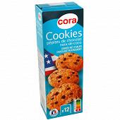 Cora cookies pépites de chocolat noix de coco 200 g