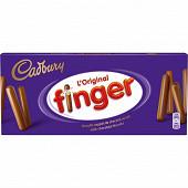 Cadbury finger lait l'original 138g