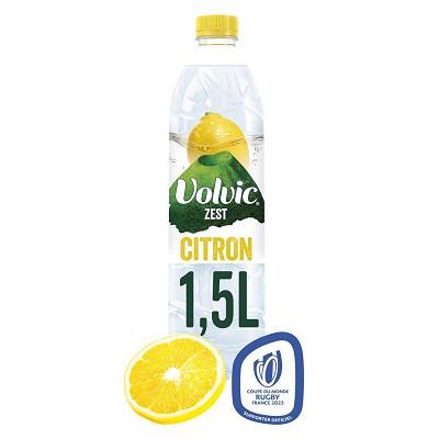 Volvic Volvic touche de fruits parfum citron 1.5l