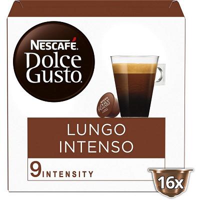 Nescafé Nescafé Dolce Gusto Lungo intenso, capsule café intensité 9 - x16 dosettes
