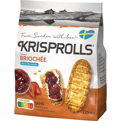 Krisprolls Krisprolls brioches 225g