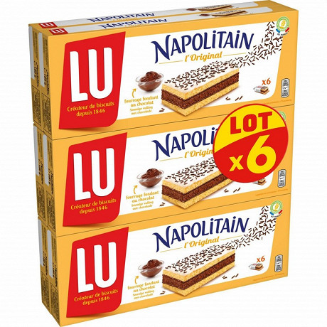 Napolitain classic individuel lotx6 soit 1080g