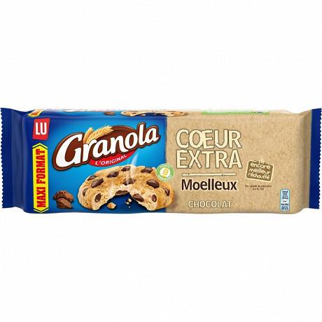 Granola cookies coeur extra moelleux chocolat 312g
