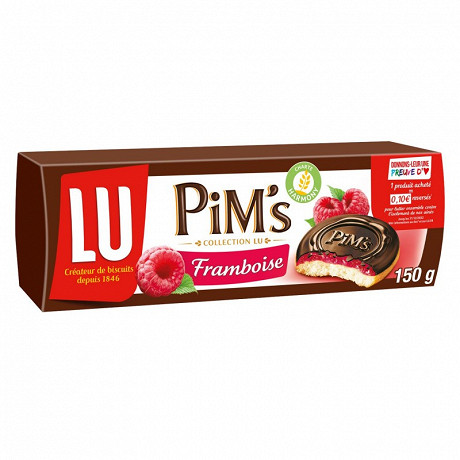 Pim's fondant framboise 150g